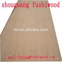 Quarter cut Red oak plywood
