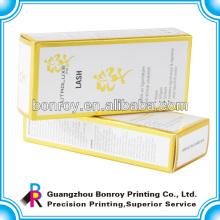 Wiederverwendbare und luxuriöse Parfüm-Box-Verpackung mit Gold-Heißprägung