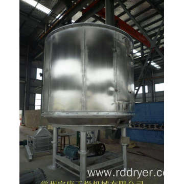Vacuum disc dryer