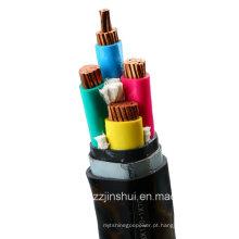 Fibra de aço isolada de PVC cabo de alimentação blindado (3-120 + 1-70)