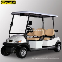 CE 4 asientos carrito de golf eléctrico