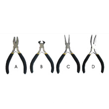 Mini Pliers 4PCS with Dipped Handle