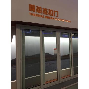 Thermal-break sliding door