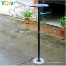 redondo superior luces de jardín solares batería, colgando luces de jardín solares, LED luz solar del césped