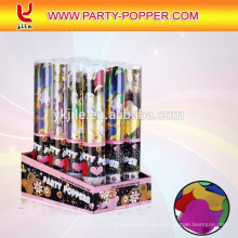 Button Press Poppers de fiesta de aire comprimido