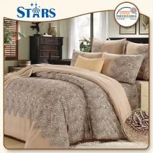GS-SACOTTON-04 king size big flower pattern luxury bedroom set