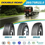 Buy semi tire in china with full certificats, truck tire 295/75r22.5