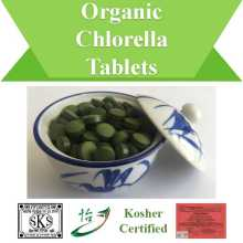 Kosher Certified Nutritional Organic Chlorella Tabletten