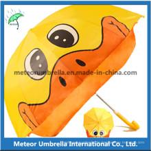 Fantastische Ente Form Karikatur Sonne und Regen Kinder Kinder Umbrella