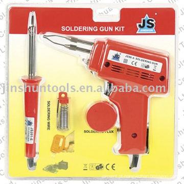 Pistola de soldagem 6pcs conjunto JS98-A + JS201-A.