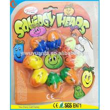 Reizend Art- und Weisequalitäts-Neuheit-Entwurfs-Lächeln-schwermütiges Gesichts-Ball-Spielzeug