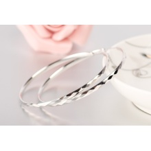 Jewelry Light Weight 925 Sterling Silver  Hoop Earring