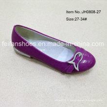 Dernières chaussures simples pour enfants Chaussures plates Chaussons pour fille (JH0808 -27)