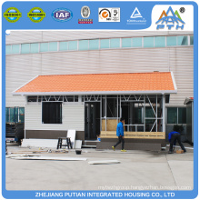 ISO,CE Certificate china customized 1 bedroom prefab house