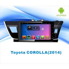 Système Android Car DVD Navigation GPS pour Corolla 10,1 pouces avec Bluetooth / WiFi / TV / MP4 / USB