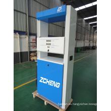 Zcheng gasolinera dispensador de combustible único inyector de la bomba