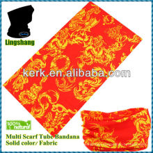 Seamless tube scarf, Hair Bandana /Multifunctional Seamless Tube Bandana !LSB182