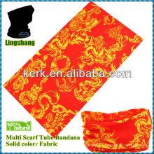 Бесшовный трубчатый шарф, бандана для волос / Многофункциональный бандана без трубок! LSB182