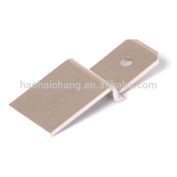 Custom made car seat heater thermostat connector parts terminal