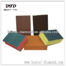 Foam-Backed Diamond Hand Pad