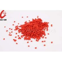 نايلون اللون الأحمر Masterbatch الحبيبية