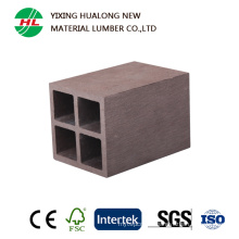 Anti-UV Wood Plastic Cpmpositd Outdoor Rails (HLM83)