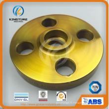 La bride de soudure de bride de prise de CS d'ASTM A105n de haute qualité a forgé la bride (KT0221)