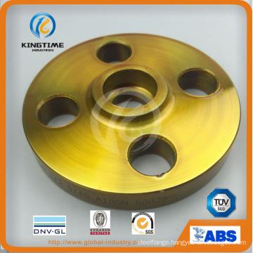 High Quality ASTM A105n CS Socket Weld Flange Forged Flange (KT0221)