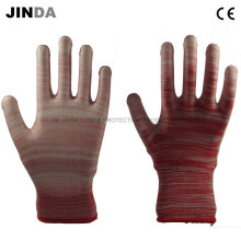 PU Coated Labor Protective Guantes Rigger Work Gloves (PU004)