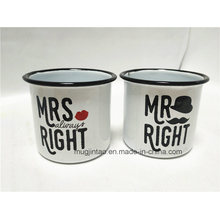 Hot Sale Enamel Metal Mug for Daily Life