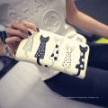 Cartera linda de la impresión para el monedero de la mano de las señoras de la nueva manera de las muchachas