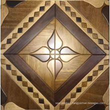 Oak and Maple, Aacia Wire Brush Parquet Wood or Laminate Flooring