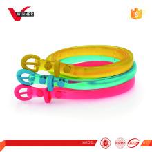 Cinturões de borracha para crianças Candy Colors