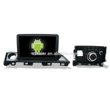 Vier Kern! Android 6.0 Auto-DVD für MAZDA Atenza 2017 mit 9-Zoll-Kapazitiven Bildschirm / GPS / Spiegel Link / DVR / TPMS / OBD2 / WIFI / 4G
