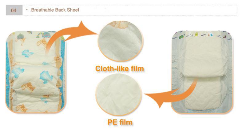 baby diaper backsheet