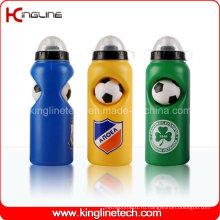 Пластмассовая бутылка воды спорта, пластичная спортивная бутылка, бутылка воды спортов 600ml (KL-6646)