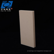 Brennplatte aus keramischem Rechteck aus Aluminiumoxid