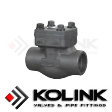Обратный клапан из кованной стали, Кованый стальной клапан, Поршневой обратный клапан