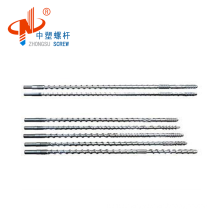 Chinese factory extrusion screw and barrel for PVC/PE/HDPE