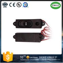 Mini boîte de haut-parleur de moniteur vidéo de 8ohm 2watt avec le plastique