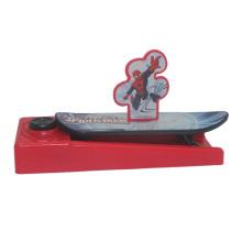 Funny mini juegos de la bandeja del juguete del monopatín para el niño