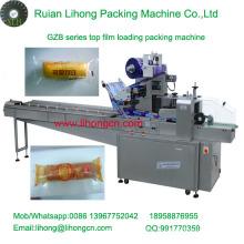 Gzb-350A Hochgeschwindigkeits-Kissen-Typ Automatische Single Brot Flow Wrapping Machine