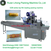 Gzb-250A High Speed Pillow-Type Automatic Single Bread Wrapping Machine