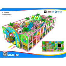 2016 Children Indoor Soft Playground Equipment for Sale, Yl24068t