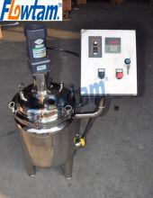 sanitário aquecimento elétrico, tanque de mistura com misturador de pá de entrada superior