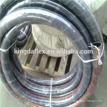 Hochtemperatur-Stahldraht Helix integrierte Hydraulikschlauch SAE J517 TYPE 100R4