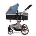 Carrinho de bebê conversível carrinho de bebê compacto único carrinho de bebê carrinho carrinho de bebê de luxo