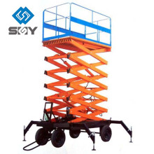 Cross-country self-propelled hydraulic scissor lift