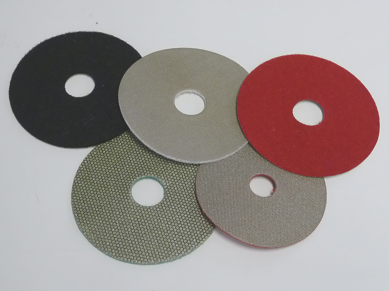 Flexible Diamond Abrasives Pad With Velco