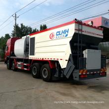 Asphalt Gravel Synchronous Sealer Truck for Road Paver